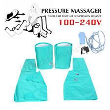 100-240V 4 Levels Pressure Massager Air Compression Massage Kit For Leg Foot
