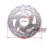 120mm 35mm Mini Dirt Bike Brake Disc Rotor 47cc 49cc 2 Stroke Pocket Mini ATV
