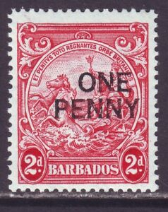 Barbados 1947 SC 209 MNH Surcharged