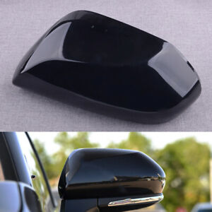 Black Left Side Rearview Door Mirror Cover Trim Assy Fit For Toyota Camry 18-20