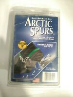 Artic Spurs Easy on Easy off Heavy Gauge Rust Resistance Steel Size XL 9 & Up.