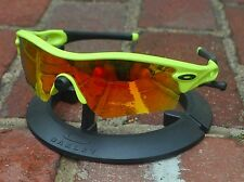 Oakley Olympic Safehouse Radar Matte Retina Burn Fire Iridium Path Lens