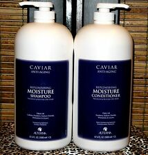 Alterna Caviar Moisture Shampoo Conditioner 67.6 oz Half Gallon 2 Liter Duo Set