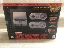 New in Box SNES Classic Super Nintendo Mini with StarFox Star Fox  2 Ready Ship