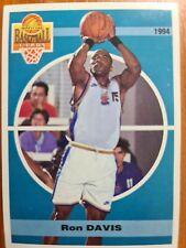 Carte basketball cards Panini 1994 Olympique Antibes SNB #10 Ron Davis