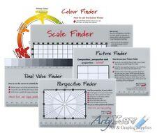 Enseñando arte Finder selección - 5 Set-Color, Tono, valor, escalar, perspectiva