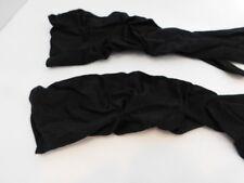 HANSON LADIES BLACK NYLON STRETCH DRESS GLOVES SIZE 7