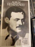 Album Hemingway 1^ Edizione I Meridiani Arnoldo Mondadori Editore
