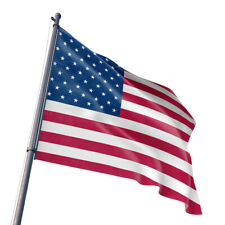 Us Flag 3'X5' Polyester Usa American Stars Stripes United States Metal Grommets