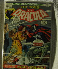 Tomb of Dracula #8 Comic Book Bronze Age Very Fine Marvel