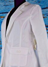 Studio Works Women's Blazer Size Small Career New Retail $58 Cotton Classic