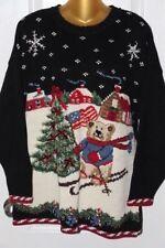 No seas un algodón encabezada ninny muggins Jumper Sweater Top Elf Invierno Navidad