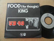"DISQUE 45T DE UB 40  "" FOOD FOR THOUGHT """