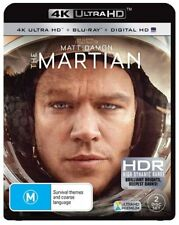 The Martian (Blu-ray, 2016, 2-Disc Set)