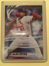 2017 Topps Chrome Freshman Flash #FF-17 Alex Reyes St. Louis Cardinals