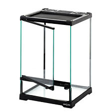 Reptile Glass Terrarium Front Single Door 21x21x30cm