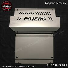 Custom Offroad NM-NX Pajero 2 piece Stainless Bash Plate -3mm