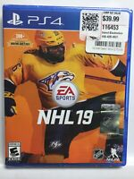 NHL 19 (PS4,Sony PlayStation 4,PS4) Hockey, Brand New Factory Sealed! USA!