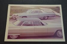 Vintage Car Photo 1964 Chevrolet Impala & 1969 Cadillac  926053