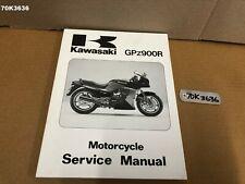 KAWASAKI GPZ 900R ZX 900 1984 - 1993 MOTORCYCLE SERVICE MANUAL OEM LOT70 70K3636