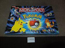 Pokemon Monopoly -  Gotta Catch Em All Original Collectors Edition Free UK Post