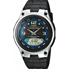 CASIO AW-82-1A*AW-82-1AVES**FISHING GEAR**MODO PESCA**SUMERGIBLE*FASES LUNARES