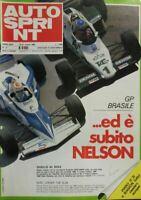 AUTOSPRINT N.11 1983