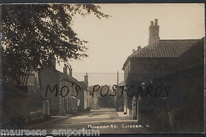 Norfolk Postcard - Mileham Road, Litcham  RT1431