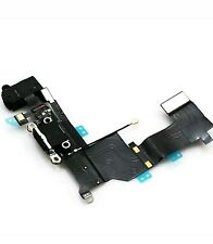 iPhone 5s USB Charging Dock Port & Mic & Headphone Jack Flex Cable - Black