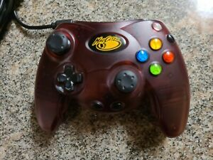 Mad Catz Dark Red Wired Controller For Xbox Original Gamepad LSG251 Very Good 3E