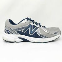 New Balance Mens 450 V3 M450SD3 White Blue Running Shoes Lace Up Size 13 4E
