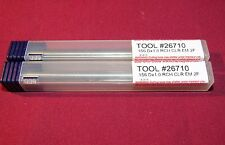 Brand New Carbide Miniature End Mills - Square -Tapered Reach (Clearance Cutte)