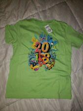Sesame place Tshirt 2018 lime green