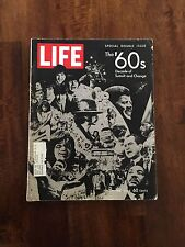 """LIFE MAGAZINE SPECIAL DOUBLE ISSUE - """"THE 60'S DECADE OF TUMULT AND CHANGE"""""""