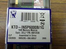 LOT OF (43) NEW KINGSTON 1GB MEMORY MODULES P/N KTD-INSP6000B/1G DELL A0612536