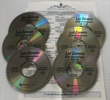 LED ZEPPELIN 25th Silver Anniversary Special Westwood One RADIO SHOW 6XCD #93-27