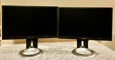 """""""Lot of Two"""" Lenovo LS2023wc Monitor - 20"""" Power & VGA Cables Included"""