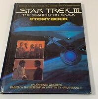 Star Trek III The Search For Spock Storybook Vintage Original 1984