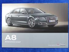 Audi A8 exclusive concept - Prospekt Brochure 09.2011