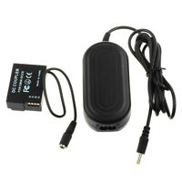 DMW-AC8 & DMW-DCC8 DC Coupler AC Power Adapter for Panasonic Lumix DMC-GH2 GH2H