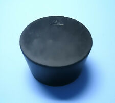 Size 85 Black Rubber Stoppers Count 1