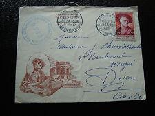 FRANCE - enveloppe 15/6/1957 quentin de la tour (cy6)