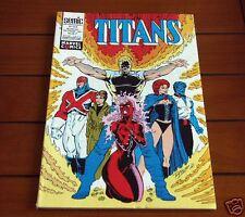 TITANS N°153 1991 Marvel SEMIC - TTBE !