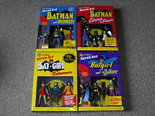 DC Direct Silver Age Batman Lot of 4 New Box Sets Penguin Catwoman Batgirl More