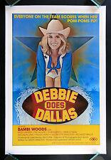 DEBBIE DOES DALLAS * CineMasterpieces ORIGINAL MOVIE POSTER 1978 RATED X