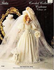 Paradise Crochet Leaflet P-030 Volume 19 to make 1904 Gibson Girl Bride Costume