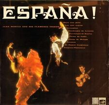 JUAN MONTEZ AND HIS FLAMENCO TROUPE espana FID 2108 uk saga LP PS EX/VG