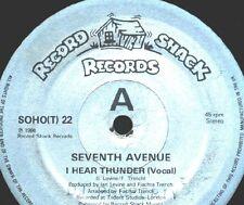 """12"""" - Seventh Avenue - I Hear Thunder (HI NRG) NUEVO - NEW, STOCK STORE"""