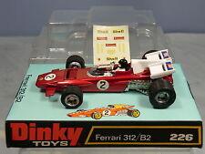 Dinky Toys Modelo No.226 Ferrari 312/B2 MIB de coche de carreras