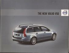 2008 08 Volvo V50 original sales brochure